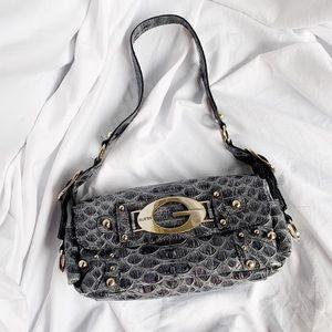Guess alligator skin purse.